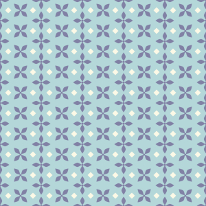 Picture no: 9015187 Florale Vierecke Created by: patterndesigns-com