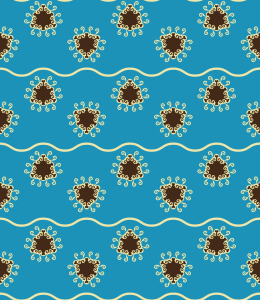Picture no: 9015199 Schwimmende Dreiecke Created by: patterndesigns-com