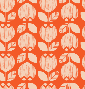 Picture no: 9015212 Retro Tulpen Created by: patterndesigns-com