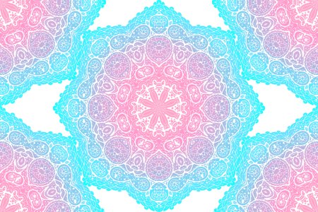 Picture no: 9015214 Leuchtende Mandala Sterne Created by: patterndesigns-com