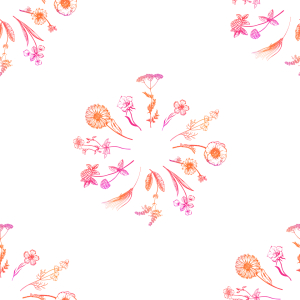 Picture no: 9015318 Wildblumensträuße Created by: patterndesigns-com