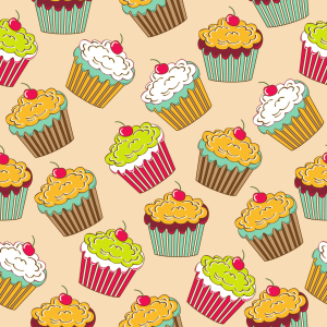 Picture no: 9015397 Leckere Cupcakes Created by: patterndesigns-com