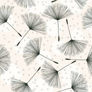 Picture no: 9015411 Pusteblumen fliegen Created by: patterndesigns-com