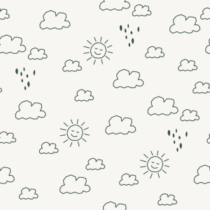 Picture no: 9015437 Skizzierte Sonne und Regen Created by: patterndesigns-com
