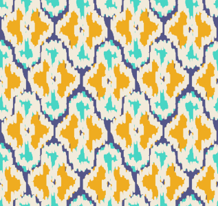 Picture no: 9015450 Gekrizeltes Ikat Created by: patterndesigns-com