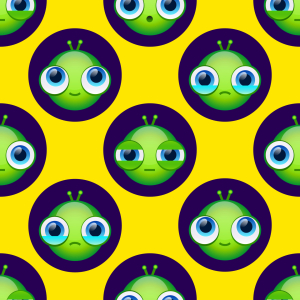 Picture no: 9015460 Aliens Haben Auch Gefühle Created by: patterndesigns-com