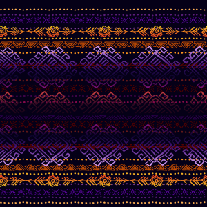 Picture no: 9015500 Mystische Ethno Streifen Created by: patterndesigns-com