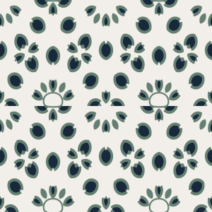 Picture no: 9015511 Florale Wege Created by: patterndesigns-com