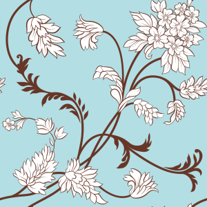 Picture no: 9025040 Blumenranken Created by: patterndesigns-com