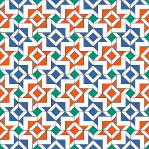 Picture no: 9025699 Alhambra Geometrie Created by: patterndesigns-com