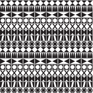 Picture no: 9025710 Tribal Monochrom Created by: patterndesigns-com
