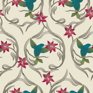 Picture no: 9025898 Kolibri Traum Created by: patterndesigns-com
