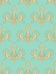 Picture no: 9025927 Lilly Aquamarin Created by: patterndesigns-com