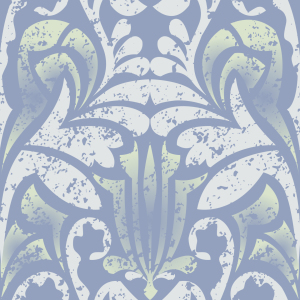 Picture no: 9026025 Damasko Blau Created by: patterndesigns-com