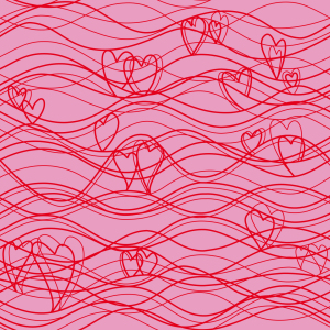 Picture no: 9026047 Wellenlängen Pink Created by: patterndesigns-com
