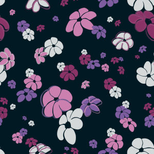 Picture no: 9026138 Blumenregen In Rosa Created by: patterndesigns-com
