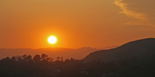 Picture no: 9316936 Sunset in LA Created by: Heinz Gutersohn