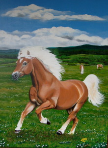 Picture no: 9404596 Haflinger Created by: Eva-Maria Oeser