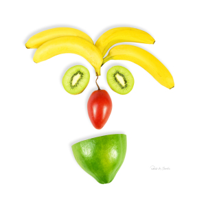 Picture no: 9417034 Fruits Face Created by: Patrick-de-Chardin