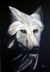Picture no: 9456624 Der Wolf Created by: Annett Tropschug
