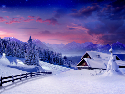 Picture no: 9470188  Winter landscape Created by: Zuboff