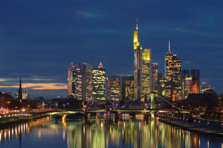 Picture no: 9529284 Frankfurt/Main Skyline Created by: FineArtImages