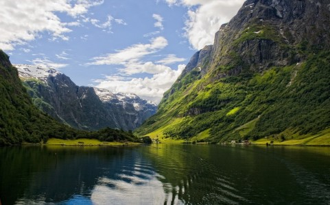 Picture no: 9614254 Fjordlandschaft Created by: mountainbiker