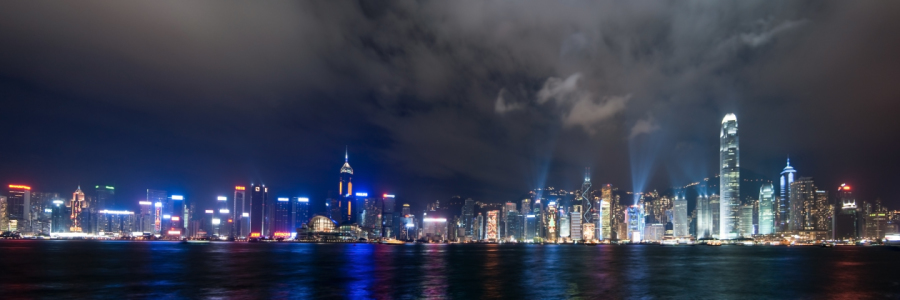Picture no: 9615148 Hong Kong by night Created by: Thomas Ströhle