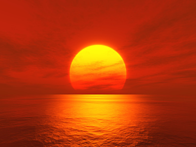 Picture no: 9639016 Roter Sonnenuntergang Created by: Markus Gann