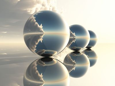 Picture no: 9691256 3spheres clouds Created by: clasto