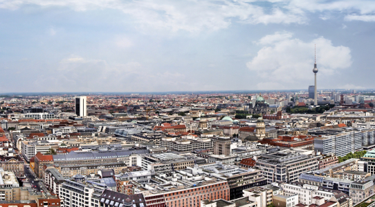 Picture no: 9732602 Skyline Berlin Created by: Galerie-Fotoeffekt