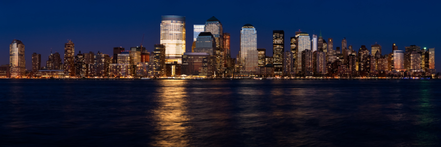 Picture no: 9746840 New York Skyline Panorama Created by: fotoburschen