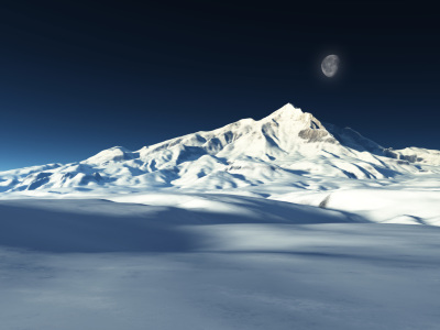 Picture no: 9865820 snow mountain Created by: magann