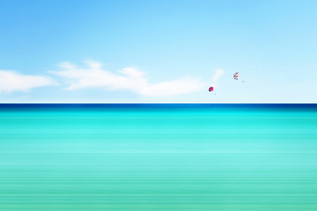 Picture no: 9935298 ~ Parasailing ~ Created by: Galerie-Fotoeffekt