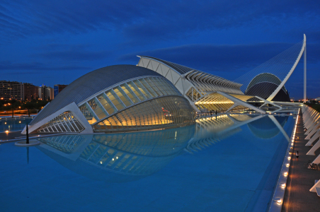 Picture no: 9952799 Valencia, Ciudad de las Artes y las Ciencias Created by: Frank Rother