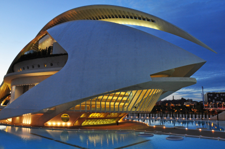 Picture no: 9953883 Valencia, Palau de les Arts Created by: Frank Rother