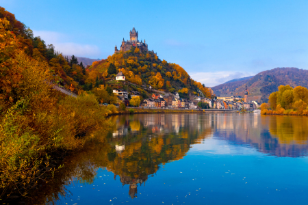 Picture no: 9961375 COCHEM 01 - Herbst an der Mosel Created by: Tom Uhlenberg