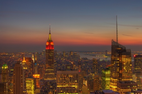 Picture no: 10007783 Manhattan Skyline at night Created by: VespaTS