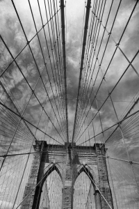 Picture no: 10030361 Brooklyn Bridge Drahtnetz Created by: Buellom