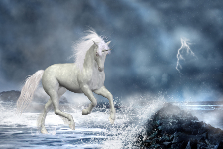 Picture no: 10055171 white unicorn Created by: Simone Gatterwe