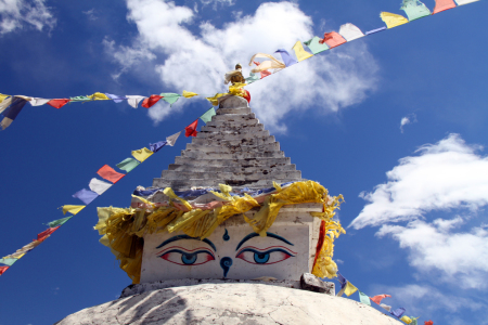 Picture no: 10092748 Stupa Created by: Gerhard Albicker