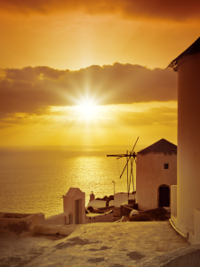 Picture no: 10093284 Santorini Sonnenuntergang Created by: magann