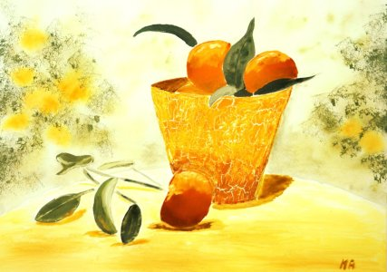 Picture no: 10105678 Orangensommer Created by: M.A. Ziehr