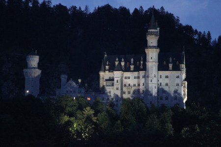 Picture no: 10147942 Neuschwanstein bei Nacht Created by: Sarah2809