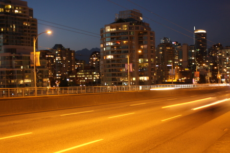 Picture no: 10153670 Vancouver bei Nacht Created by: Josephine999