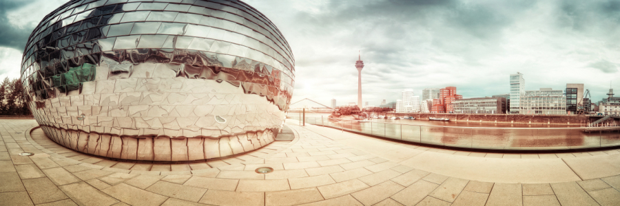 Picture no: 10169261 Düsseldorf Medienhafen Panorama Created by: Frank Wächter