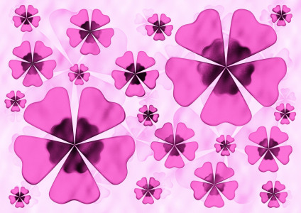 Picture no: 10204749 Floral Pink Created by: Atteloi