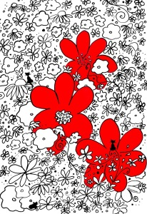Picture no: 10291267 The red flowers Created by: Sandra Riedel