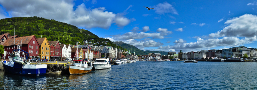 Picture no: 10313681 Norwegen Bergen Panorama Created by: Nordbilder