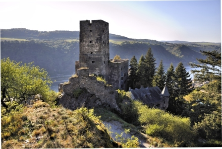 Picture no: 10317473 Burg Gutenfels - Ostseite 4 Created by: Erhard Hess